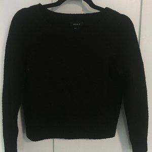 Forever 21 Black Crew Neck Sweater